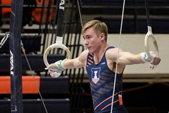 The Iron Cross (RPahre) Tags: gymnastics huffhall huff champaign illinois rings stillrings universityofillinois dennisminton ironcross copyrighted robertpahrephotography donotusewithoutpermission