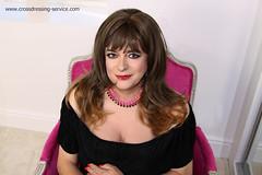 Lipstick (rosy.flower57) Tags: lipstick blouse photoshoot tv cd femme transgender
