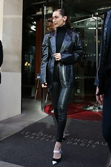 Strict Business Woman (Leatherlover987) Tags: bella hadid out about haute couture fashion week paris france 24 jan 2018 model female personality 68183125