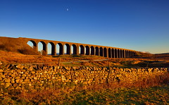 Golden hour addiction (images@twiston) Tags: golden hour winter drystonewall 24arches sunset afternoon ribblehead viaduct ribbleheadviaduct arches blue sky moon settle carlisle settlecarlisle yorkshire northyorkshire midland railway main line 1875 battymoss battywifehole sebastopol belgravia jericho scheduledancientmonument arch ribblesdale dales 3peaks yorkshire3peaks penyghent snow track national park yorkshiredalesnationalpark moorland moor landscape fells stonework imagestwiston godsowncountry architecture wideangle wide angle