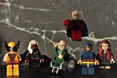 class photo (notatoy) Tags: lego x men wolverine professor xavier marvel magneto cyclope