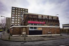 Abandoned Pub, Woolwich (London Less Travelled) Tags: uk unitedkingdom england britain british london city urban woolwich pub abandoned