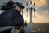 180114-N-OW019-008 (SurfaceWarriors) Tags: usspearlharbor pearlharbor lsd52 amphibiousdocklandingship navy deployment americaamphibiousreadygroup ama arg powerprojection amaarg aarg watch quartermaster bridge pilothouse mast sextant seaman bigeyes pacificocean