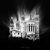 Notre-Dame de Fourvière (Stéphane Sélo Photographies) Tags: architecture bw cathédrale fourvière france lyon nb noiretblanc notredamedefourvière pentax pentaxk3ii rhône sanctuaire blackwhite city façade fineart urban urbanlandscape ville église