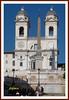 Trinità dei Monti (fr@nco ... 'ntraficatu friscu! (=indaffarato)) Tags: italia italy lazio roma rome spagna piazza piazzadispagna trinità monti trinitàdeimonti