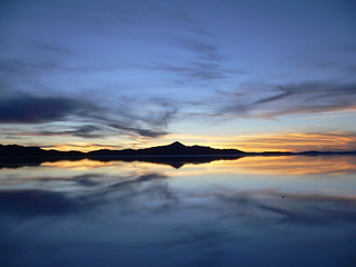Uyuni, After the Rain, Bathing in Reflected Glory