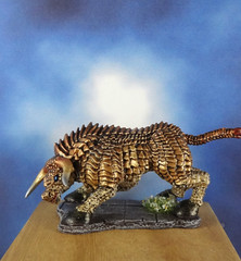 Brass-Bronze-Gold-Bull-Reaper-Miniature-04 (Dead Bard Miniatures) Tags: dd dungeons dragons reaper ralpartha grenadier warhammer wotc chainmail pathfinder painted miniature mini