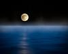Moonset (ShutterJack) Tags: bay evening fog glow midnight moon moonlight night ocean sea sliver water