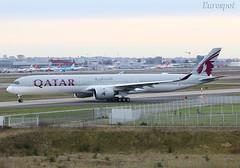 F-WZNR (@Eurospot) Tags: fwznr a7ana airbus a350 a3501000 qatar toulouse blagnac a3501041