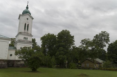Tornimäe Neitsi Maria Kaitsmise kirik ja kirikla, 25.08.2017.