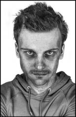 Enstien Crazy In His Attic (lightandform) Tags: deep crazy portraits faces moments identity feelings self knowledge einstien