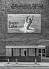 'Brick and Ballet' (Canadapt) Tags: city urban man telephone mobile call theater building bricks sidewalk street bw toronto swanlake canadapt opera ballet osgoode