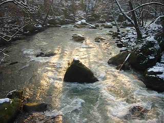 sunrise Irreler Wasserfälle