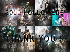 A thank you **3K followers** (_Adra Braeden_ *Client List CLOSED*) Tags: followers thankyou 3000