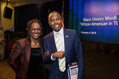Black History Month Celebration (U.S. Dept. of Housing and Urban Development (HUD)) Tags: ben carson housing people sohud secretary africanamerican blackhistory christine culture history holbert jenkins kenneth krewasky lawanda museum national salter war worldwar young