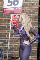 British GT Championship Snetterton 2017 - Tolman Motorsport grid girl (Sacha Alleyne) Tags: britishgtchampionship pirelli motorsport racing 2017 pitlane babe grid umbrella pit promo promotional girl blonde