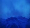 Dusk's blue breath (Zeb Andrews) Tags: hasselblad alberta banff kodakektar100 blue dusk twilight cold winter landscape canadianrockies mountains 6x6 mediumformat canada nikoncoolscan9000 scannedatbluemooncamera