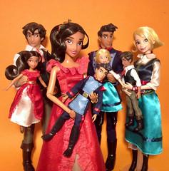 When you're hand in hand... (honeysuckle jasmine) Tags: disneyprincess princess barbie collection dolls doll elenaofavalor