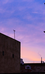 . (Saâd Jebbour) Tags: sunset sky clouds skyscape cloudscape bluehour 50mm nikon vsco 2017 madrid spain saadjebbour
