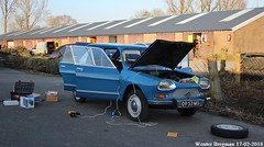 My Citroën Ami 8 Club (1970) (XBXG) Tags: 0953ms citroën ami 8 club 1970 citroënami8 citroënami ami8 bleu danube blue nederland holland netherlands paysbas vintage old classic french car auto automobile voiture ancienne française vehicle outdoor