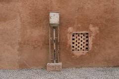 Mystery Box (toletoletole (www.levold.de/photosphere)) Tags: fuji fujixpro2 isfahan xf18135mm esfahan wall wand window fenster stromkasten electricity