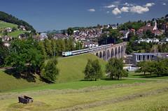 VAE 2578 @ Herisau (Wesley van Drongelen) Tags: sob schweizerische suedostbahn südostbahn sudostbahn re 456 ktu lok vae voralpen express voralpenexpress herisau train trein zug
