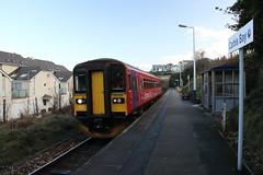 153325 Carbis Bay, Cornwall (Paul Emma) Tags: uk england cornwall railway railroad dieseltrain train carbisbay 153325