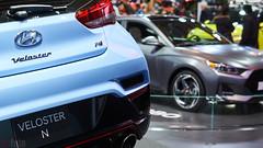 Canadian International Auto Show 2018 (chaozbanditfoto) Tags: toronto ontario canada cias cias2018 hyundai velostern
