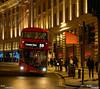 Bus à l'impériale (remi ITZ) Tags: londres london night nuit light lumiéres