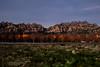 Montserrat, autumn (PepaAston) Tags: montserrat elbruc grass green red blue grey gris rojo azul verde crepusculo twilight mountain catalonia