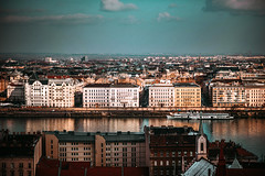 (•:*´¨`*:•.☆Diℓeyℓα ☆•:*´¨`*:•) Tags: hungary budapest city cityscape river duna lookslikefilm vscofilm nikon nikonhungary cityview cityexplore landscape ship grain