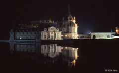 image019_Chateau_de_Chantilly_At_Night (rjh0361) Tags: france oise chantilly 60 chateau reflections night film musée