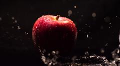 Fresh Apple (Theo Crazzolara) Tags: apple fresh freshness apfel fruit obst früchte health healthy diet splash nutrition ernährung gesund gesundheit water frisch red business vitamin veggie vegan vegetarian