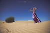 TUNES on DUNES (hisalman) Tags: fashion photography desert dubai female model violine music artist hisalman salmanahmed