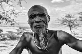 Old Karo Warrior