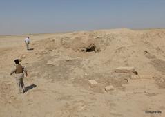Tell Ubaid (2).JPG (tobeytravels) Tags: iraq tell alubaid elubaid ubaid woolley pottery kilns ninhursag mesopotamia