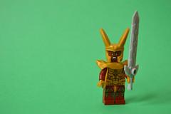 Heimdall (th_squirrel) Tags: lego marvel comics thor norse heimdall heimdallr minifig minifigure
