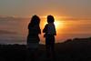 P1090770 (petercan2008) Tags: mirar puesta de sol mujer playa valdearenas liencres cantabria españaatardecer ocaso