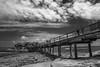 DSC00470 (Damir Govorcin Photography) Tags: boardwalkpier bare island la perouse sydney blackwhite monochrome clouds wide angle sony a7ii rocks natural light bridge
