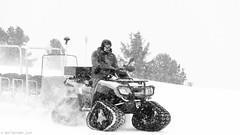 Snow Men 3 (Neil. Moralee) Tags: austria2018neilmoralee neilmoralee snow trac tractor buggy fast snowing tracks man driver rider storm winter ice wind white black mono monochrome bw bandw blackandwhite transport mountain steep neil moralee nikon d7200