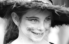 Pretty zombie (vinnie saxon) Tags: blackandwhite monochrome nikon nikoniste zombie event candid makeup girl portrait people grouptripod