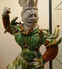 Tomb Guardian, 700-750, Tang Dynasty (jacquemart) Tags: thevictoriaandalbertmuseum london va tombguardian 700750 tangdynasty