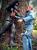 Bionic Battle (decobray) Tags: six million dollar man bigfoot kenner