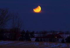 Blue Moon Lunar Eclipse (Matt Champlin) Tags: cold chilly moon astronomy eclipse lunar bluemoon lunareclipse canon 2018 amazing beautiful supermoonmorningwinterjanuaryfrozensunrisewednesdayhump day rural night twilight