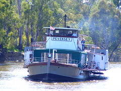 "Paddle steamer ""Pevensey"", Echuca, Victoria (Diepflingerbahn) Tags: paddlesteamer pevensey echuca victoria rivermurray"