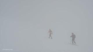 Course dans le brouillard (Switzerland)