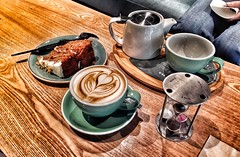 Cappuccino time.. (Mike-Lee) Tags: cappuccino coffika meadowhall httpscoffikacouk sheffield mike jill feb2018 greentea eggtimer