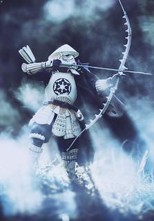 Archer Prepares for Battle
