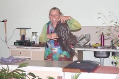 IMG 8579 (Eminpee Fotography) Tags: felting friends people craft fibreart wool