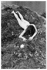 . (R o t w a n g) Tags: girl portrait analog photography experimental 35mm film grain series nude stars infrared black white narrative ornamental magic